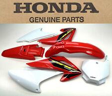 New OEM Plastic Body Kit 03-07 CRF150F CRF150 Honda Front Rear Fender Side  #R83