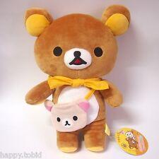 "San-X Rilakkuma Relax Bear BiG Plush 13.5"" Tall Japan Amusement Game Doll"