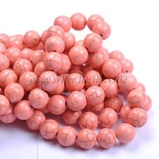 Wholesale Howlite Turquoise Gemstone Round Loose Spacer Beads 6MM 8MM 10MM 12MM