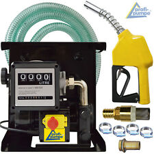 DIESEL TRANSFER PUMP SELF PRIMING FUEL EXTRACTOR FLUID OIL BIO ELECTRIC 220-240V
