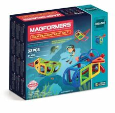 Magformers Sea Adventure 32 piece Childrens Bright & Colourful construction set