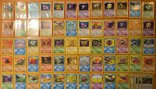 1st Edition English FOSSIL Pokemon Cards WOTC Complete HOLO Set!! Updated Daily!