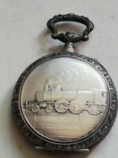 boite montre gousset 1900 argentan locomotive FRAINIER + Cadran locomotive neufs   eBay