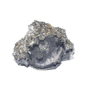 Dolomite, Boulangerite, Pyrite Specimen Crystal Trepca Mine 0.5kg (43)