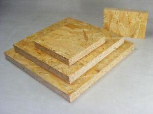 OSB 25mm als Zuschnitt - Grobspanplatte Bastelholz Möbel Camper Werkstatt