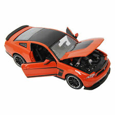 Ford Mustang Boss 302 Orange 1:24 Scale