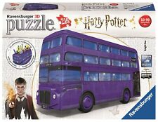 "PUZZLE 3D RAVENSBURGER 11158 AUTOBUS NOCTAMBULO HARRY POTTER ""KNIGHT BUS"""