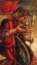 Antique Look Sola Busca Revisited Tarot Deck Self Published By Elaine Wilkinson