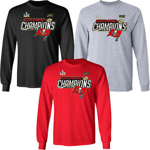 Tampa Bay Buccaneers LV Champions Trophy Collection Long Sleeve Shirt
