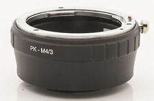 Lens Mount Adapter Pentax PK K Objektive an Micro 4/3 four thirds Systeme