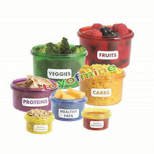 Perfect Portions Food Storage Container Easy To Lose Weight Keep Fit Health Life