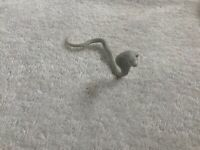 Vintage 1960s Aurora MUMMY Monster Model Part Cobra Snake