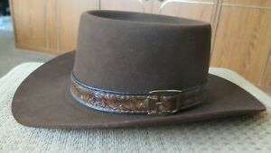 Men's Vintage Stetson Cowboy Hat 3X XXX Stetson Beaver Size 7 1/4