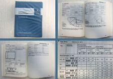 Mercedes Benz 200 220 230 350SL 450SL 600 R107 Tabellenbuch 1974 W114 W116