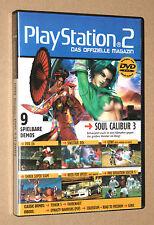 PS 2 Offizielle Magazin Demo DVD Soul Calibur 3 Shrek Super slam Tekken 12/2005