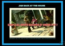JIMI HENDRIX  WOODSTOCK HOUSE BACKYARD  SNAP 5x7 Sept 69  LIMITED GRAPHICS BEST