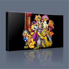 TOP CAT AND THE GANG ICONIC CLASSIC CARTOON CANVAS ART PRINT PICTURE ArtWilliams