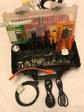 PAT Tester's Ultimate Toolbox Kit, Adapters, Labels, Tools, Parts, Accessories
