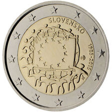 Slovenia 2015 - 2 Euro Comm - 30th Anniversary of the European Flag (UNC)