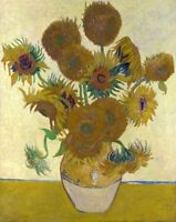 Sunflowers Painting by Vincent van Gogh Art Reproduction
