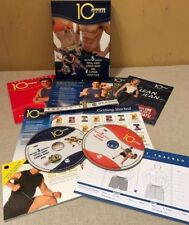 10 MINUTE TRAINER TONY HORTON 5 WORKOUTS ABS FITNESS DVD EXERCISE CARDIO NEW