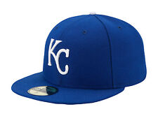 Era Kansas City Royals Cap Authentic 59fifty Men Hat Game Fitted MLB Blue 8 c35b3b0e7b6