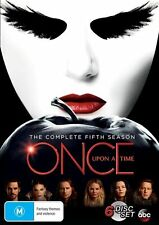 Once Upon A Time : Season 5 (DVD, 2016, 6-Disc Set) Brand New Sealed Region 4