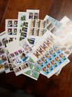 Lot 5 United States MNH blocks, multiples and singles about $98.00 face