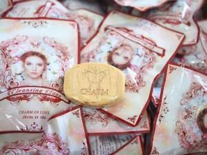 Charm of love soap cleansing Make up Gold Vitamin Reduce Wrinkles dark spots 62g