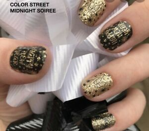 Color Street MIDNIGHT SOIREE-UNICORN EXTREMELY RARE - RETIRED Colorful Mani!