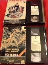 2 Rare James Bond 007 Tapes - Pre Cert NTSC Tape (upto 3 Tapes Posted For £3.95)