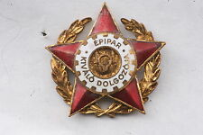 Hungary Hungarian Medal Excellent Worker Engineering Industry Engineer Badge