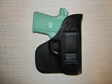 COLT 380 MUSTANG, IWB & POCKET, formed leather holster, right hand