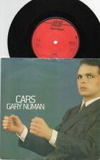 "GARY NUMAN - CARS 7"" DARK TRANSLUCENT RED"