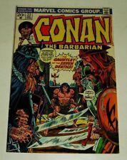 MARVEL COMICS CONAN THE BARBARIAN #33 BRONZE AGE 12/1973 FINE+