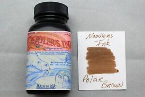 NOODLERS INK 3 OZ BOTTLE POLAR BROWN