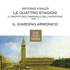 Il Giardino Armonico - Vivaldi:The Four Seasons/Concertos (Das Alte Werk) [CD]