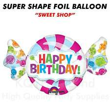 "Super Shape ""Sweet Shop"" Jumbo Foil Balloon Helium Air Birthday Decoration"