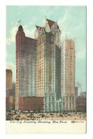 City Investing Building New York City New York Vintage Postcard EB150