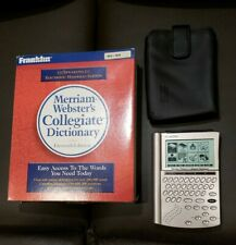 FRANKLIN MERRIAM WEBSTER'S COLLEGIATE ELECTRONIC POCKET DICTIONARY SCX-1870