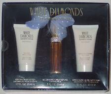 ELIZABETH TAYLOR WHITE DIAMONDS PERFUME 3 PIECE GIFT SET NEW IN BOX