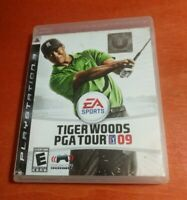 Tiger Woods PGA Tour 09 Sony PlayStation 3 PS3 EA Sports Electronic Arts