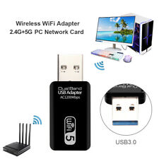 1200Mbps USB Wifi Tarjeta de red 2.4G / 5G Adaptador inalámbrico de doble banda