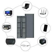Magnetic Precision Screwdriver phone & PC Repair Tool Set 48&Bits Kit U0O5