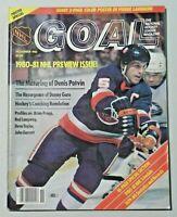 NHL GOAL Hockey Magazine 1980-81 NHL Preview Issue Denis Potvin Cover 8071