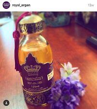 Argan oil 100%Royal Argan - Pure as gold- organic  All skins-  Cosmotic oil
