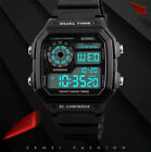 SKMEI Men's Watch LED Digital Waterproof Military Quartz Analog Wrist Watches FR