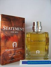 ( 100 ml = 18 € ) Etienne Aigner STATEMENT for Men Eau de Toilette  125  ml