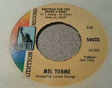 Mel Tormé – A Day In The Life Of Bonnie And Clyde ~ Promo ~ (VG+)