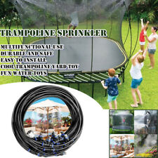 8M Outdoor PE Trampoline Water Game Sprinkler Garden Cooling Spray Summer Party